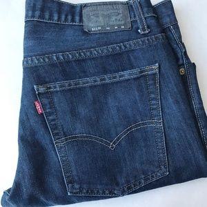Levi's 511 Slim Boys 16 Husky Dark Denim Jeans